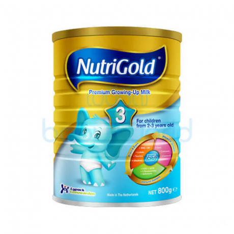 ម្សៅទឹកដោះគោ NutriGold3 800g