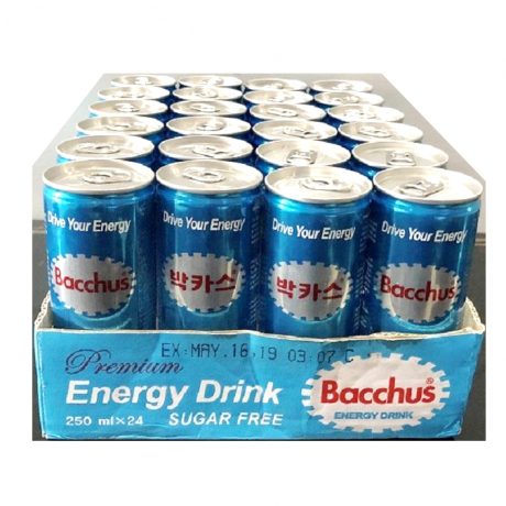 Bacchac suger free 250ml*24 Cans
