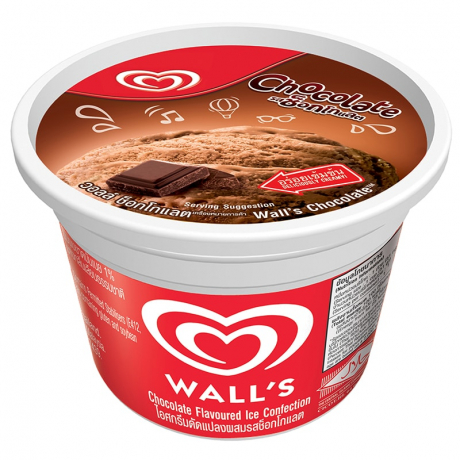 WALL'S CUP CHOCOLATE  24X55G