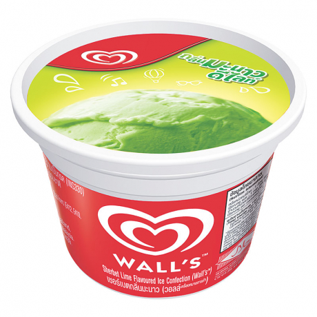 WALL'S CUP LIME 24X55G