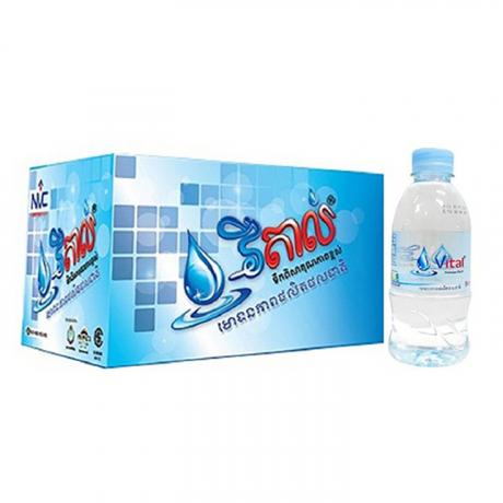 ទឹកបរិសុទ្ធ វីតាល់កេស Vital 350ml*24 Bottles