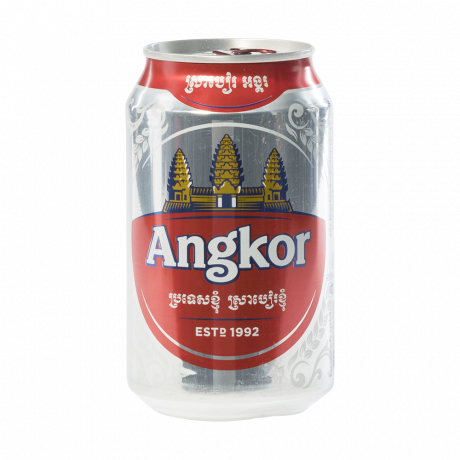 ស្រាបៀរអង្គរ Angkor Beer Can 330ml