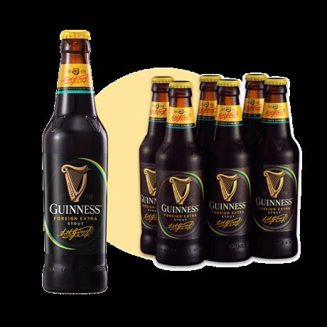 ស្រាបៀហ្គីនណេស៍ដប Guinness 330ml Pts x24B