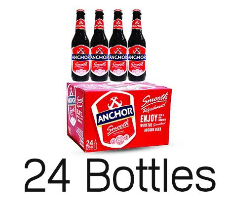 ស្រាបៀអាន់ឆ័រដប Anchor Beer 330ml x24ដប
