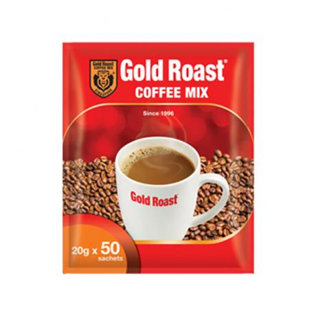 កាហ្វេកញ្ចប់ Gold Roast 3 in 1