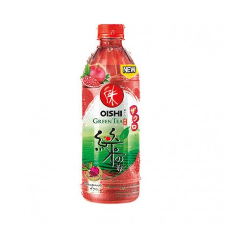 ភេសជ្ជៈតែបៃតង Oishi Pomegranate