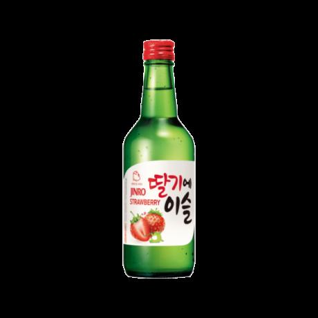 ស្រាបៀ Jinro Strawberry ដប