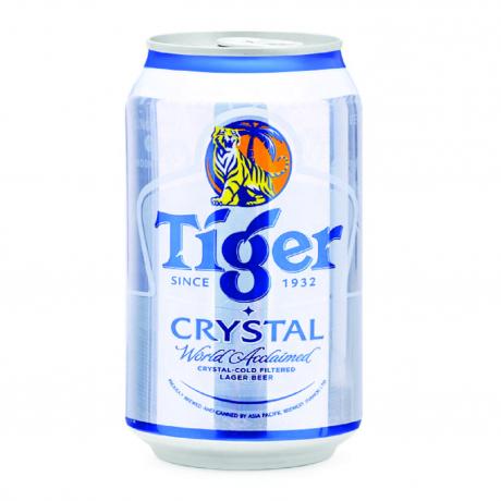 ស្រាបៀ Tiger CryStal កំប៉ុង