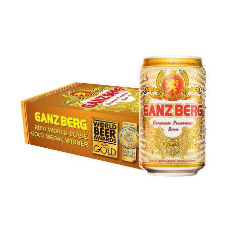 ស្រាបៀហ្គេនហ្គឺត 24កំប៉ុង Ganzberg Beer