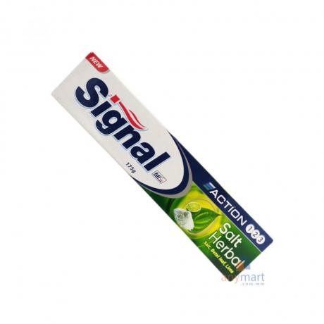 ថ្នាំដុសធ្មេញ សីកណល Signal Toothpaste Herbal Salt 175g