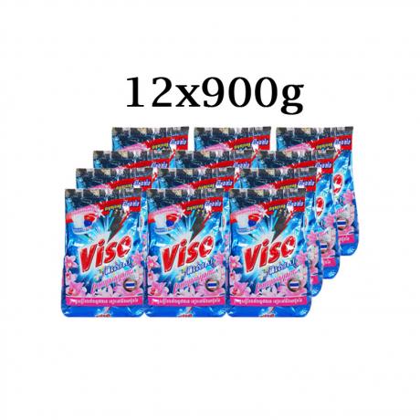 ម្សៅសាប៊ូវីសូ Viso Pises Refresh Scarlett (KH) 12x900g_VS