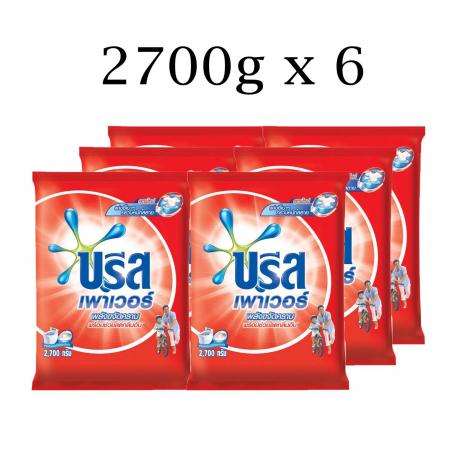 សាប៊ូម្សោ ប្រីស Breeze Power 2700gx6(Red Pillow)_BRZ