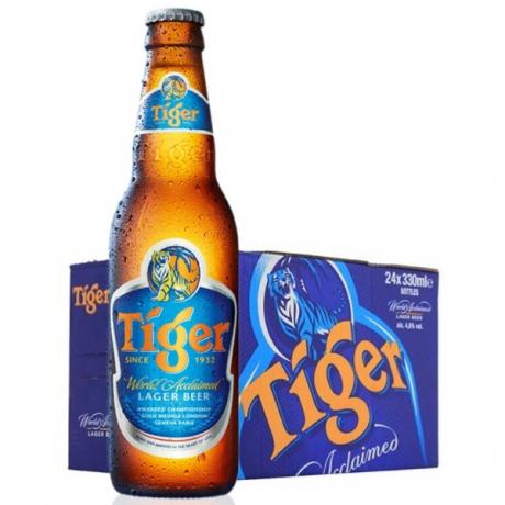 ស្រាបៀថៃហ្គ័រ 24ដប Tiger Beer *24