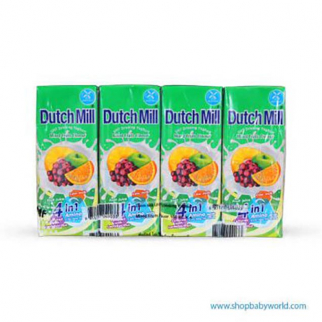 Dutch Milk 4in1 Mixed Fruits 180ml