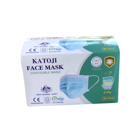 Katoji Face Mask (Disposable Mask) 4play 50pcs