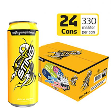 ស្ទីងលឿងកំប៉ុង Sting Yellow 330ml x24c
