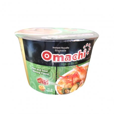មីដំឡូងបារាំង Omachi បង្កង ជូរ និង ហឹរ