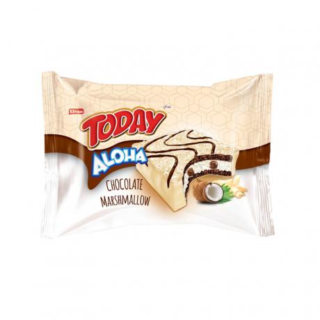 Elvan Today Aloha mini chocolate Marshmallow  Coconut 100g