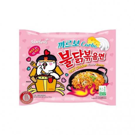 Samyang Carbonara Hot Chicken Flavor Ramen 130g