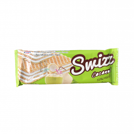 Swizz Wafer filled with coconut Cream
