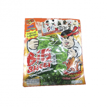 Koriko Squid Grilled seaweed Big Sheet 5.5g