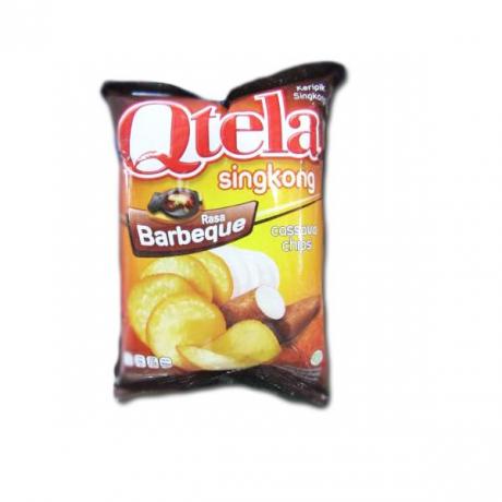Qtela Singkong Rasa barbeque  cassava chips 60g