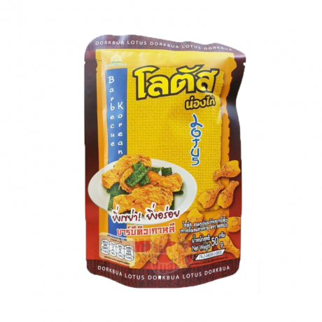 Thailand Food Snack Lotus Barbecue@ Seaweed Stick Biscuit Travel Party (50g)