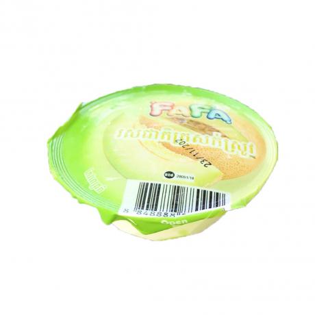 ការ៉េម FaFa រសជាតិត្រសក់ស្រូវ