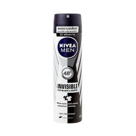 Nivea Men Black & White Spray 150ml