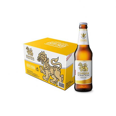 Singha bottle big 24pack 620ml (Thai)