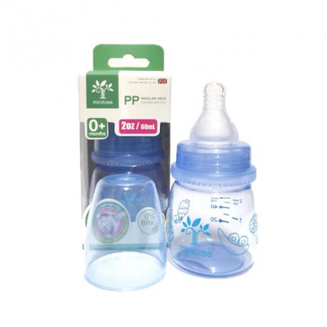 Minitree feeding bottle PP regular neck 0m+ 60ml