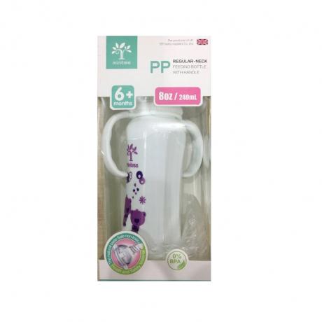 Minitree feeding bottle PP wide neck 6m+ 8oz 240ml