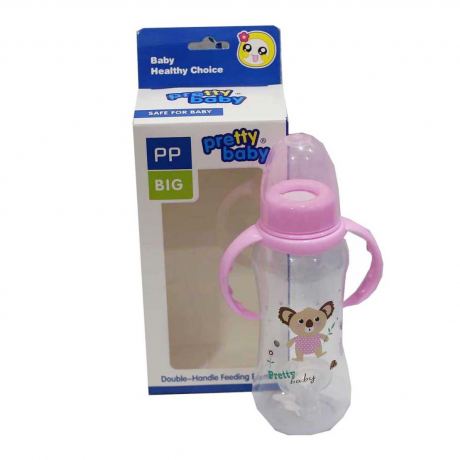 Pretty Baby- Double handle feeding bottle Big
