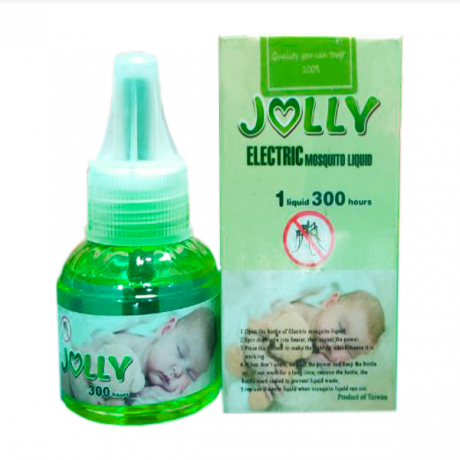 Jolly Electri mosquito liquid 1liquid 300 hours