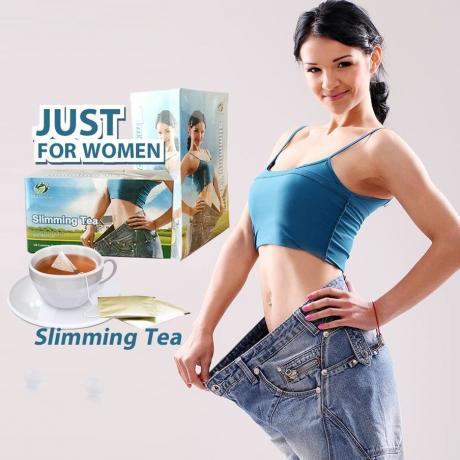 តែសម្រកនារី (បីប្រអប់) 40g Slimming Tea Just For Women
