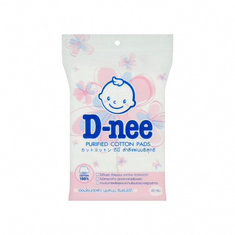 D-nee purified cotton pads