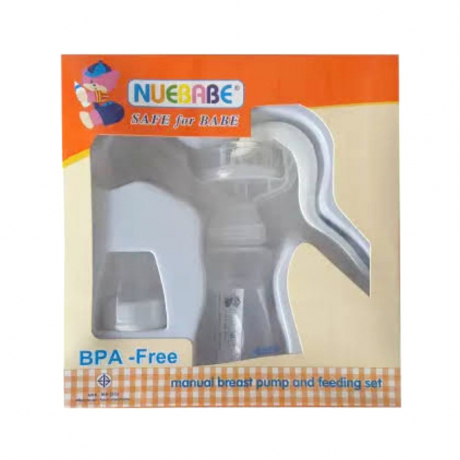 Nuebabe Manual breast pump and feeding set NB1222