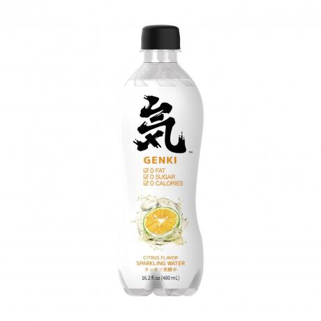 ទឹកសូដាជប៉ុនរស់ជាតិក្រូចឆ្មា (15ដប/កេស)- Sparkling Water - Lemon flovor