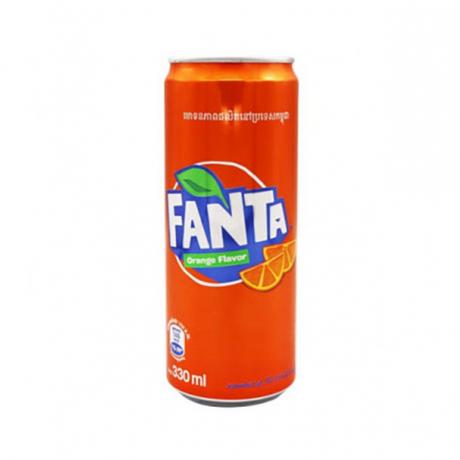ទឹកក្រូចហ្វាន់តាកំប៉ុង Fanta Orange 330ml