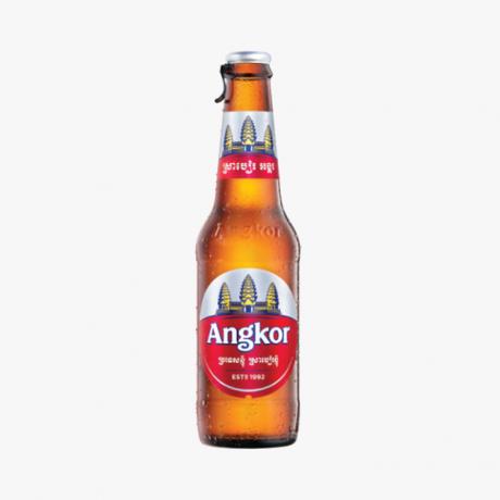 ស្រាបៀរអង្គរ ដប Angkor Beer Bottle 330 ml