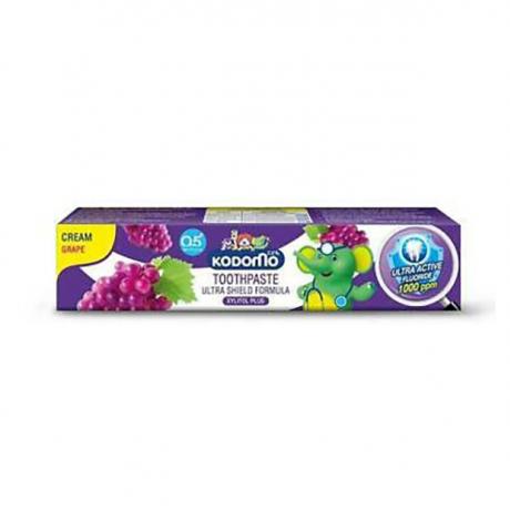 Kodomo KidTootgpaste 65g Grape