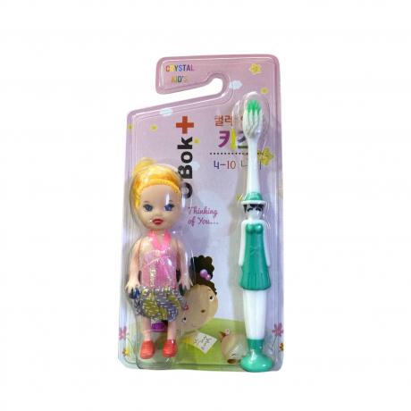 OBok Kid's Toothpaste Girl 4-10y