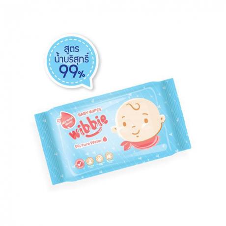 Wibbie Baby Wibe Wet Tissue 80Pcs