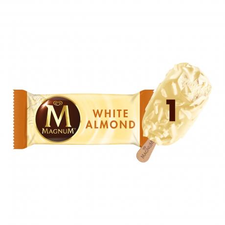 ការ៉េម MAGNUM WHITE ALMOND AMBER 24X80 ML(63G)