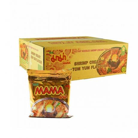 មីកញ្ចប់ ម៉ាម៉ា Mama Shrimp Creamy កេស