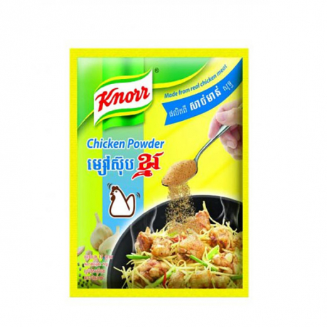 ម្សៅស៊ុប ខ្នរសាច់មាន់ Knorr Powder Chicken 400g