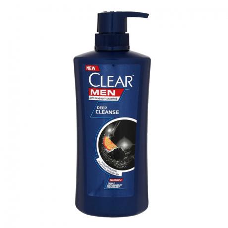 សាប៊ូកក់ សក់ក្លៀរបុរស ពណ៌ខ្មៅ Clear Men Deep Cleanse