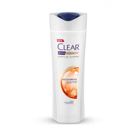 សាប៊ូកក់សក់ក្លៀរ ពណ៌ទឹកក្រូច Clear SH Anti Hairfall 330ml