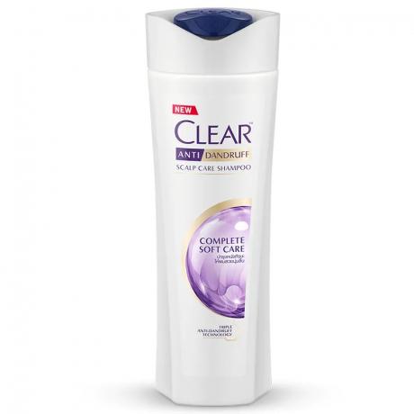 សាប៊ូកក់សក់ក្លៀរ ពណ៌ស្វាយ Clear SH Complete Soft Care 330ml