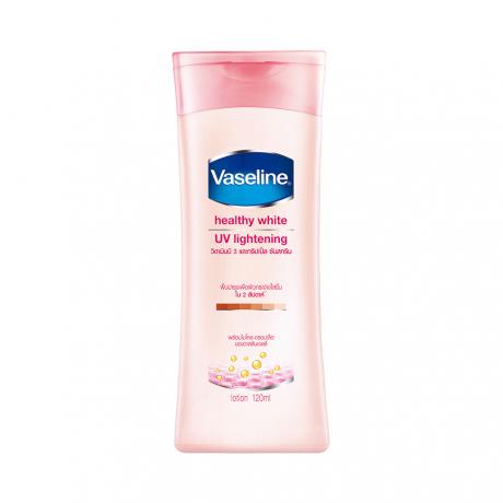 ឡេលាបខ្លួន វ៉ាសាលីន Vaseline Lotion Healthy White UV Lightening 120ml